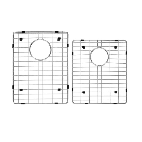 DAX Grid for Kitchen Sink, Stainless Steel Body, Chrome Finish, Compatible with DAX-SQ-3120, 17-3/4 x 13-1/2 Inches (GRID-SQ3120)