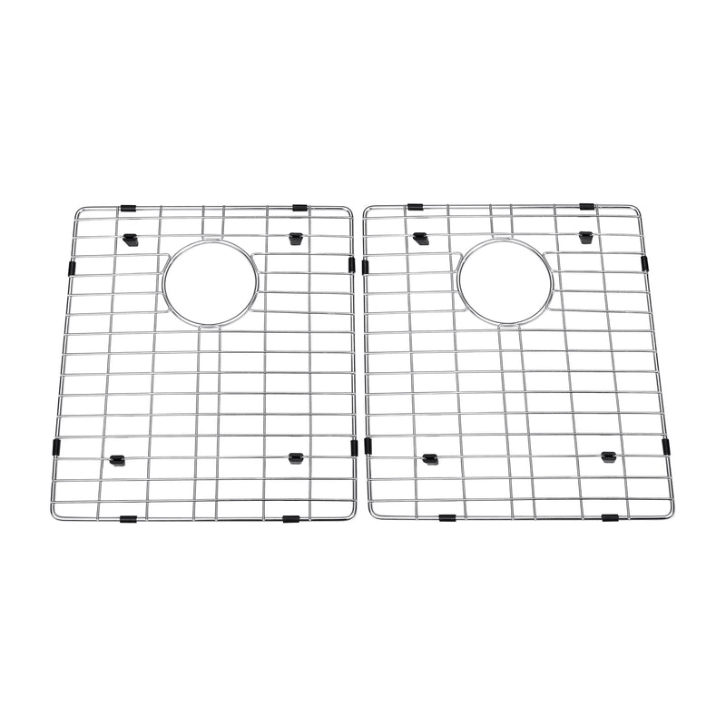 DAX Grid for Kitchen Sink, Stainless Steel Body, Chrome Finish, Compatible with DAX-SQ-3320F, 15-3/4 x 14-1/4 Inches (GRID-SQ3320F)