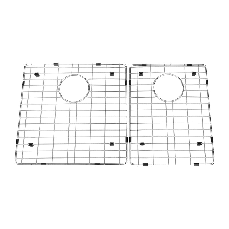 DAX Grid for Kitchen Sink, Stainless Steel Body, Chrome Finish, Compatible with DAX-SQ-3320, 19 x 16 Inches (GRID-SQ3320)
