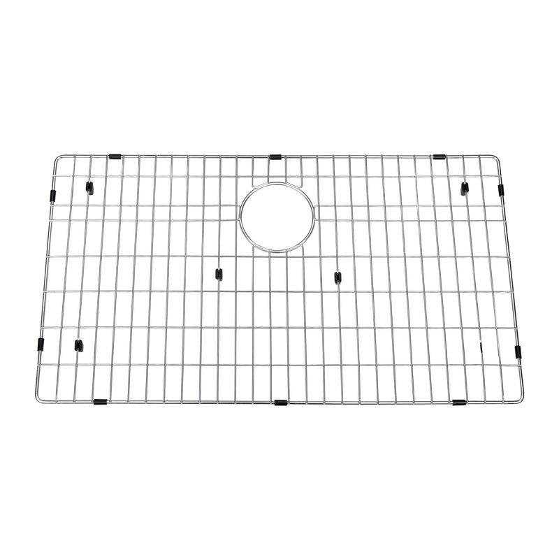 DAX Grid for Kitchen Sink, Stainless Steel Body, Chrome Finish, Compatible with DAX-SQ-3321, 30 x 16 Inches (GRID-SQ3321)
