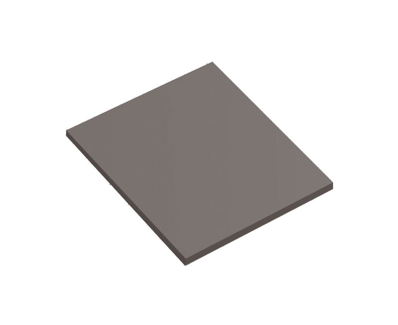 "DAX 14"" x 18"" Surfside Wood Top. Gray (DAX-SURF041416)"