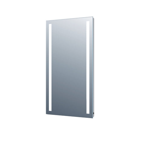 "24"" Mirror Vertical frost light. PVC back with aluminum sealings (DAX-TH-1)"