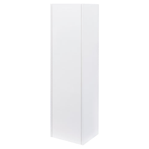 "16"" Tall Side Cabinet, Wall Mount, 1 Door, White, ZEN Collection by DAX"