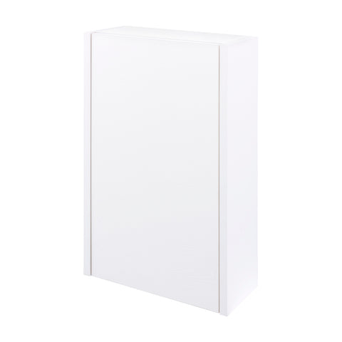 "16"" Small Side Cabinet, Wall Mount, 1 Reversible Door, White, ZEN Collection by DAX"