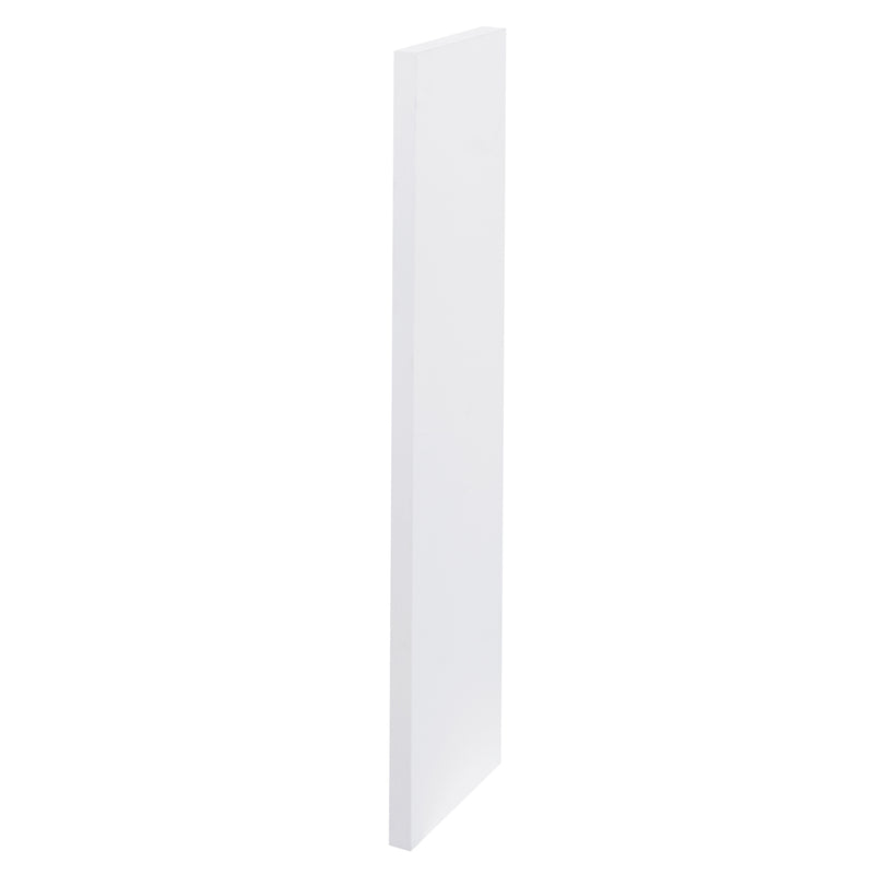 "20"" Wood Finish Filler, White, ZEN Collection by DAX"