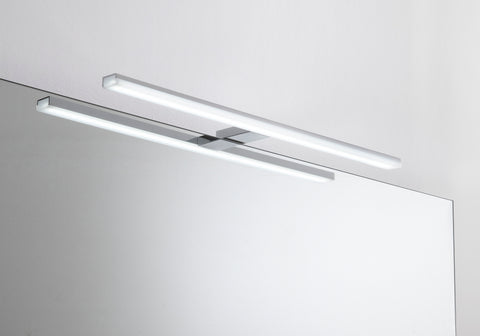 "32"" Bathroom Vanity Lighting Fixtures, Tube Stainless Steel Wall LED Light, 5700K, Waterproof, Serie by VALENZUELA"