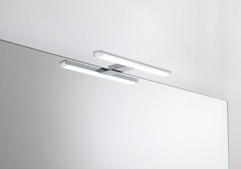 "11"" Bathroom Vanity Lighting Fixtures, Tube Stainless Steel Wall LED Light, 5700K, Waterproof, Serie by VALENZUELA"