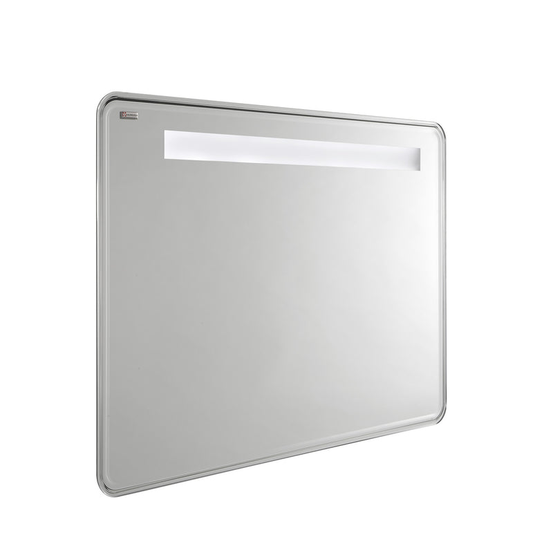 "48"" LED Backlit Beveled Bathroom Vanity Mirror, Wall Mount, Serie by VALENZUELA"