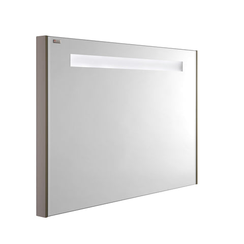 "40"" LED Backlit Bathroom Vanity Mirror, Wall Mount, Mink, Serie Class by VALENZUELA"