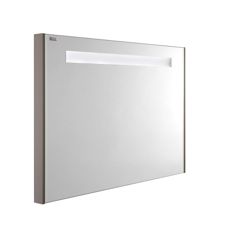 "48"" LED Backlit Bathroom Vanity Mirror, Wall Mount, Mink, Serie Class by VALENZUELA"