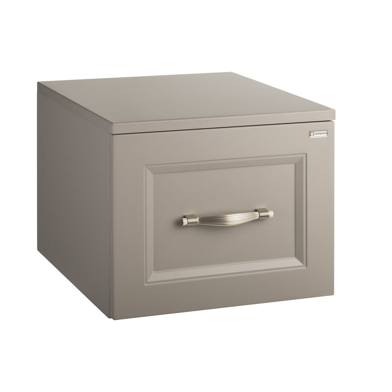 "16"" Lower Side Cabinet, Wall Mount, 1 Drawer with Handle and Soft Close Mink, Serie Class by VALENZUELA"