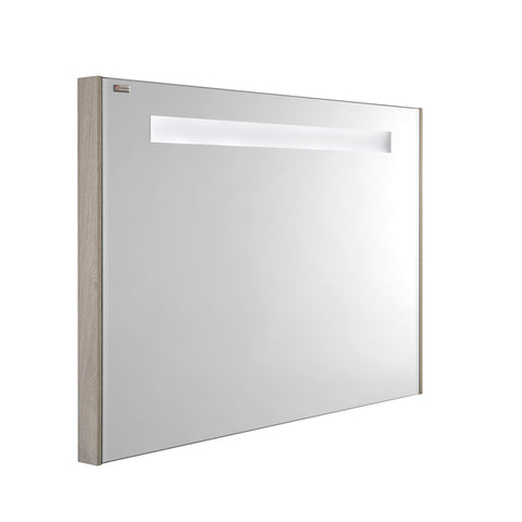 "48"" LED Backlit Bathroom Vanity Mirror, Wall Mount, Cloud, Serie Barcelona by VALENZUELA"