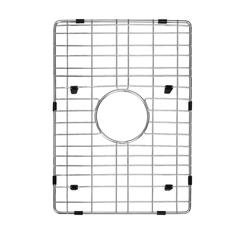 DAX Grid for Kitchen Sink, Stainless Steel Body, Chrome Finish, Compatible with DAX-SQ-1512, 12-4/5 x 10-1/4 (GRID-SQ1512)