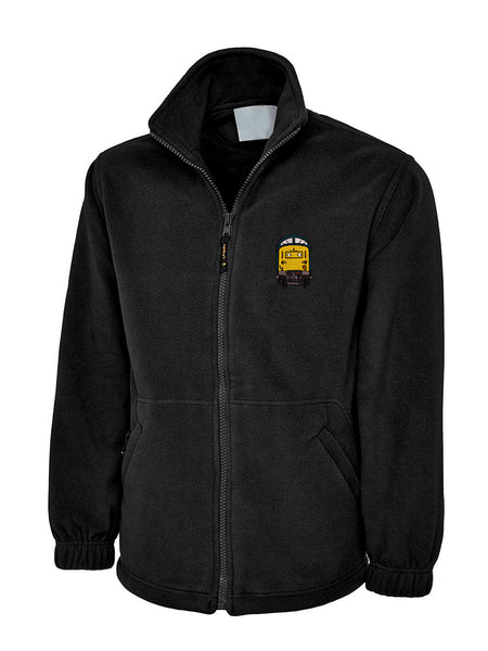 Diesel Loco Front Fleece Jacket - Class 55 Deltic
