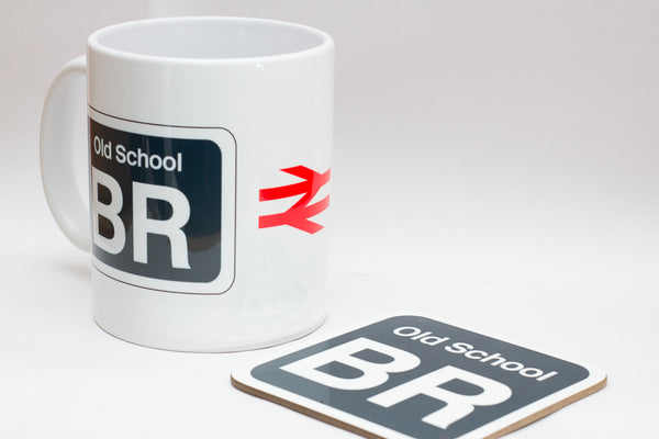 Shed Sticker Mug / Coaster - British Rail Old School (BROS)