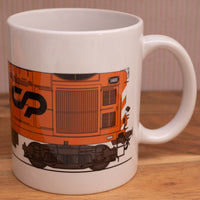 Portuguese English Electric CP 1400 mug