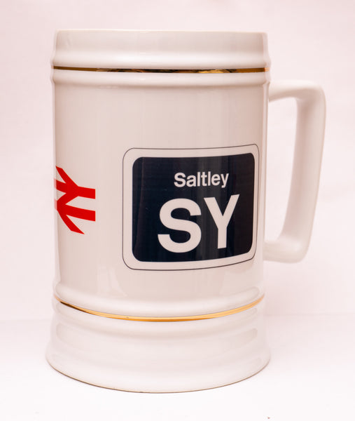 Personalised Beer Stein (Railway Designs) Design 4