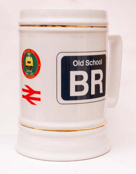 Personalised Beer Stein (Railway Designs)  Design 1