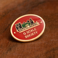 G Scale Society Pin Badge