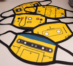 Locomotive Facemasks (New designs added!) - Adult & Childrens sizes