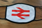 British Rail Double Arrows Face Mask - CHILD (SMALL)