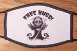 Grim Reaper 'Free Hugs' facemask - ADULTS (LARGE)