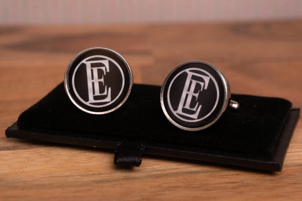 English Electric EE round logo Cufflinks with gift box