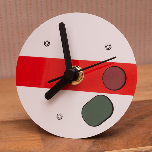 Semaphore Ground / Shunt signal - Small desk clock