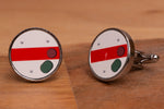 Semaphore Ground Signal Cufflinks with gift box
