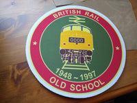British Rail Old School - Mousemat