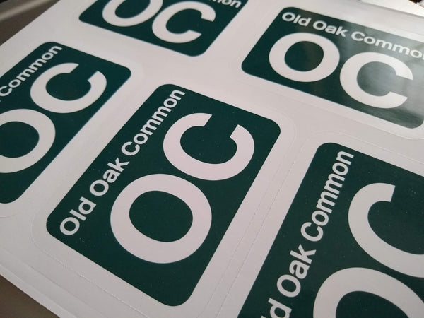 British Rail Shed Sticker - Printed vinyl. ANY depot you like.