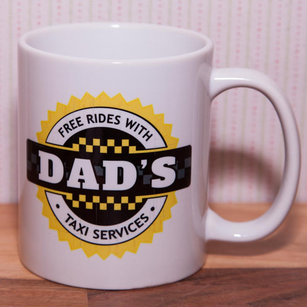 Dad's Taxi Service Mug (Also Available as Gift Set)