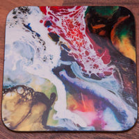 Abstract paint - Coaster