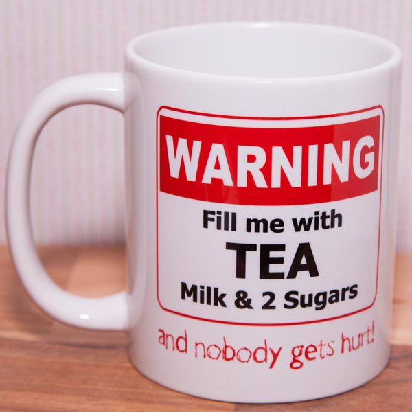 If found please return - Office Drink Mug (Double Sided, personalised)