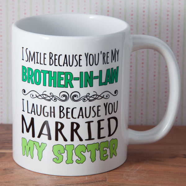 Brother in Law - Mug (Also Available as Gift Set)