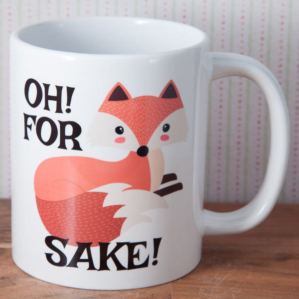 Oh For Fox Sake - Mug (Also Available as Gift Set)