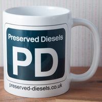 Preserved Diesels Mug & Coaster Set
