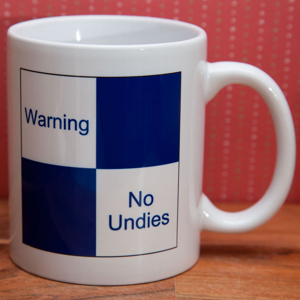 Cranks - Warning - No Undies - Mug/Coaster set (Also available individually)