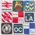 Cranks - British Rail Signs - Metal Fridge Magnets