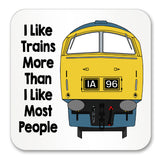 I like trains more than I like most people Mug / Coaster - Class 52