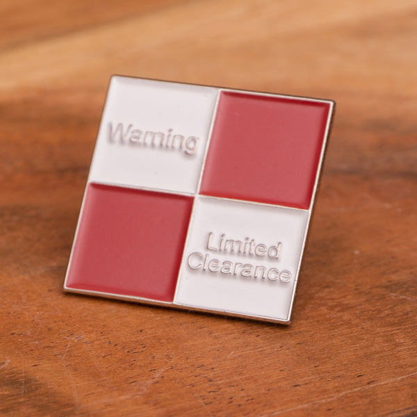 Limited Clearance Soft Enamel Pin Badge 25mm