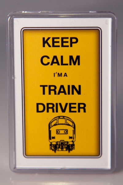 Keep Calm, I'm a Train Driver Fridge magnet (Various classes available)