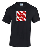 Not To Be Moved Railway Sign Printed T-Shirt