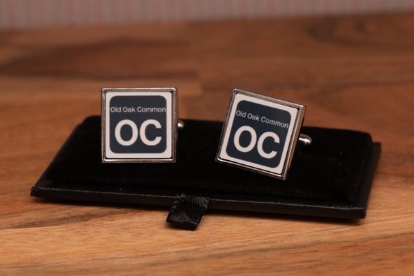 BR Shed Sticker Cufflinks with gift box