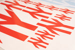 British Rail 'Double Arrows' logo - Vinyl Sticker (Red). Three sizes available.