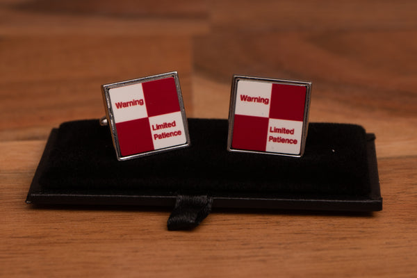 Limited Patience Cufflinks with gift box