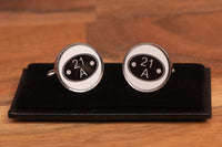 BR Shed Plate Cufflinks with gift box
