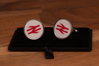BR Double Arrows logo Cufflinks with gift box