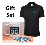BR Shed Sticker Gift Set - Includes Mug, Polo Shirt, & Coaster