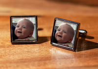 Personalised Photo Cufflinks with gift box